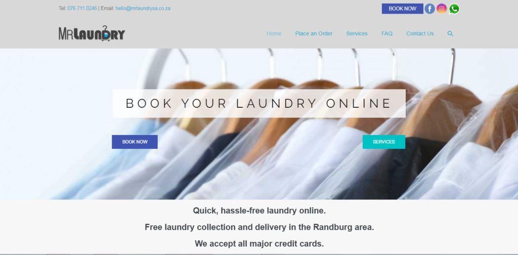 LoveLocal Website Design 005 Mr Laundry Online