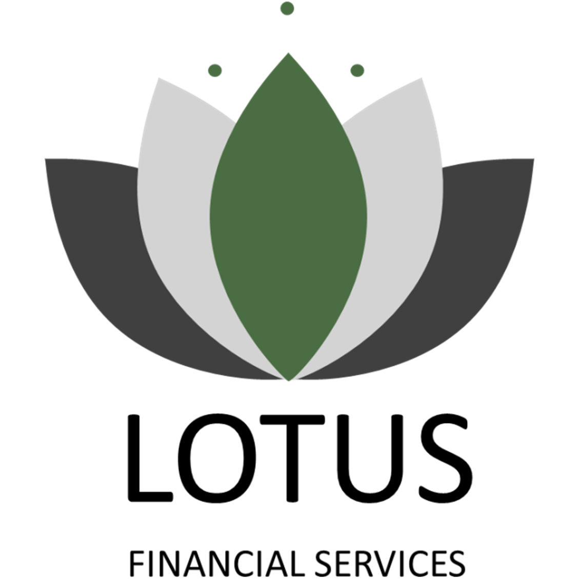 108 LoveLocal Logo Design Lotus Financial Services